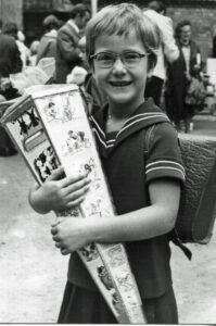 1973 Schuleinführung