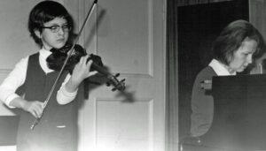 1974 erster Auftritt im Händelhaus