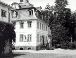 1982-1984 Wohnort Schloß Belvedere, Mozarthaus des Internats der Spezialschule für Musik Weimar