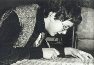 1984 Beginn des Musikstudiums an der Hochschule für Musik Franz Liszt Weimar