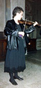 1991/92 Kurse für Barockgeige bei Monika Huggett