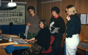 1993 Konzertmeister bei der Aufnahme des Cembalokonzertes c-moll von C. Ph. E. Bach mit Ludger Rémy zur Gründung von 'Les Amis de Philippe'