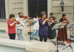 1995 erstes Schönefelder Schlosskonzert