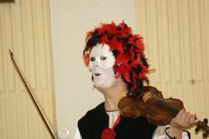 Januar 2010 - 1. Wiederaufbaukonzert im Großen Schloss Blankenburg, Telemannisches Collegium Michaelstein spielt 'Carneval in Venedig' (Foto: Marcel Hacker)