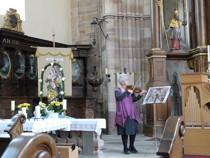 Mai 2010 - Bibers Mariae Himmelfahrt in der Klosterkirche Pfaffen-Schwabenheim 'Mariae Himmelfahrt'