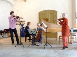 September 2011 - Konzert in der Schlosskirche in Torgau mit Hildegard Saretz, Katharina Simon und Bernhard Forck