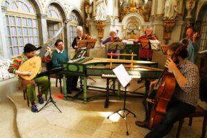 Mai 2016 - Schlosskapelle Weesenstein, Konzert und Aufnahmen Tafelmusik von Furchheim, Foto Hartmut Schütz