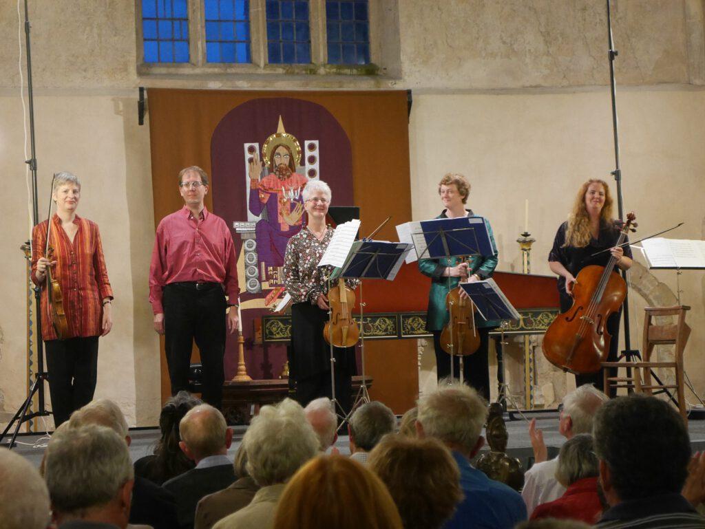 21. August 2016 - Konzert 'Bach Players' in Binham priory Norfolk (England), Foto Klaus Voigt