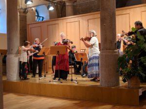 Juni 2018 Internationaler Viola d'amore Kongress Sondershausen, Foto Klaus Voigt
