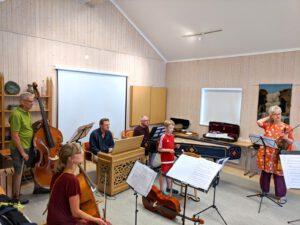 Juli 2018 Musikkurs in Schweden, Foto Klaus Voigt