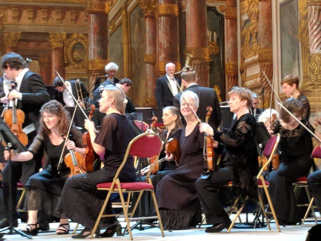 Oktober 2018 Berlioz in Versailles mit Orchestre revolutionnaire et romatique, Foto Voigt
