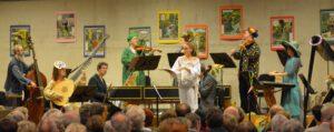 Silvester 2018 Kloster Michaelstein, Konzert mit Melodram, Foto Grunwald